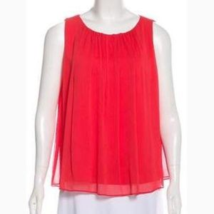 Alice and Olivia Pleated Blouse